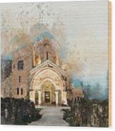 Bagrati Cathedral Wood Print