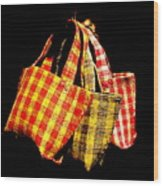 Bags On The Loose Wood Print