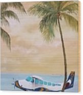 Bahama Bound Wood Print
