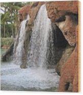 Bahama Waterfall Wood Print
