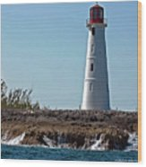 Bahamas Lighthouse Wood Print