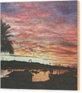 Bahia Inglesa Landscape  Wood Print