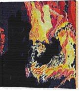 Baila Gitana Baila Wood Print