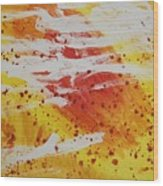 Bailando En El Sol Wood Print