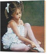 Bailarina Wood Print
