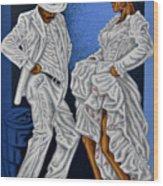 Baile De Figura Wood Print
