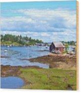 Bailey Island Lobster Shack Wood Print