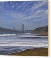 Baker Beach Wood Print