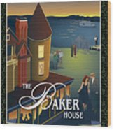 Baker House Endless Sunset Wood Print
