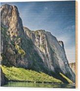 Bakers Brook Pond, Gros Morne National Park, Newfoundland And Labrador, Canada  Wood Print