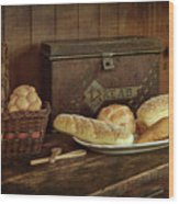 Baking Day - Bread Wood Print