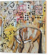 Balaams Donkey Sees The Angel 201762 Wood Print