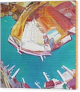 Balaklaw Bay Wood Print