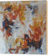 Balance And Harmony Abstract Painting Wood Print