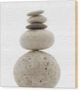 Balanced Wood Print
