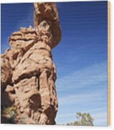Balanced Rock 1 Wood Print
