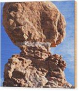 Balanced Rock 2 Wood Print