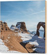 Delicate Arch Wide Wood Print