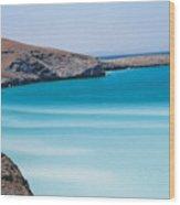 Balandra Bay Wood Print