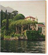 Balbianello Wood Print