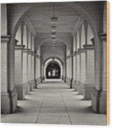 Balboa Park Archways Wood Print