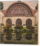 Balboa Park Botanical Building Symmetry Wood Print