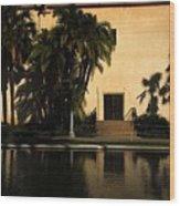 Balboa Pond Wood Print