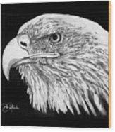 Bald Eagle #4 Wood Print