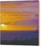 Bald Head Island Study 10 Wood Print