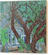 Bald Head Island, Village Chapel Wood Print