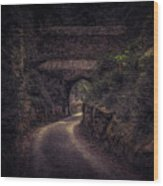 Balduinstein Castle_gateway Wood Print