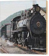 Baldwin Locomotive Number Fifteen Wood Print