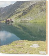 Balea Lake Wood Print