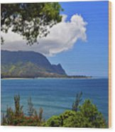 Bali Hai Hawaii Wood Print