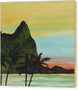 Bali Hi Kauai Wood Print
