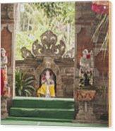Bali Stage Wood Print