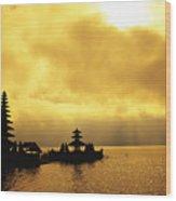 Bali, Temple Wood Print