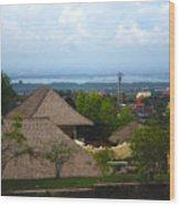 Bali V Wood Print