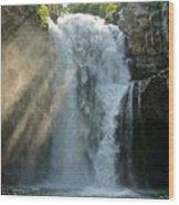 Bali Waterfalls Too Wood Print