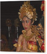 Balinese Dancer Wood Print