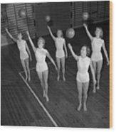 Ball Ballet Wood Print