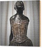 Ballerin Wood Print