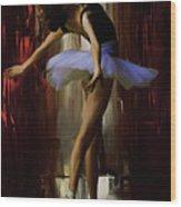 Ballerina 0xd09 Wood Print