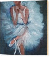 Ballerina 2 Wood Print