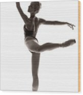 Ballerina Grace Wood Print