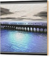 Ballester Bridge Wood Print