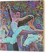 Ballet Carnival Wood Print