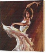 Ballet Dance 0706  Wood Print