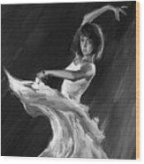 Ballet Dance 0905 Wood Print