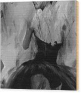 Ballet Dance Pose 01 Wood Print